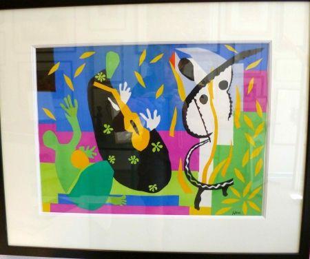 Lithographie Matisse - La tristesse du roi
