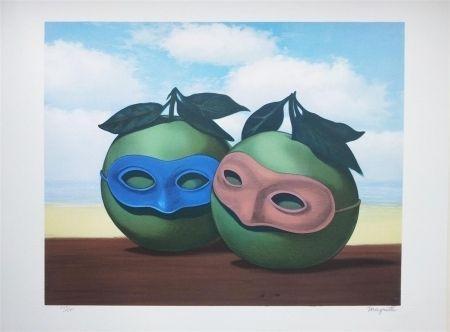 Lithographie Magritte - La Valse Hésitation (The Hesitation Watlz)