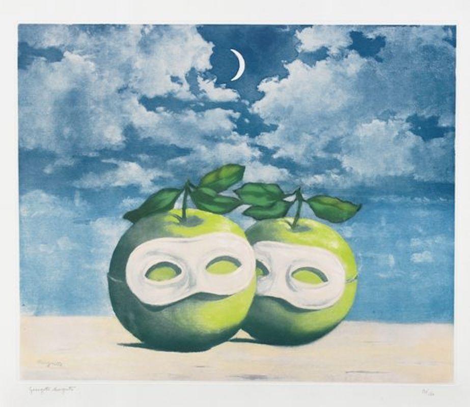 Radierung Und Aquatinta Magritte - La Valse Hesitation