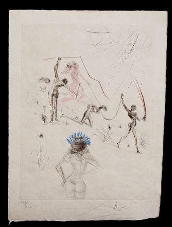 Stich Dali - La Venus aux Fourrures The Negresses