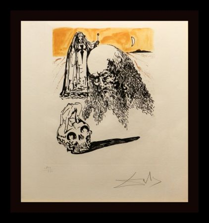Stich Dali - La Vida es Sueno Viellart Tete de Mort