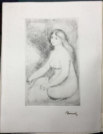 Radierung Renoir - LA VIE ET L'ŒUVRE DE PIERRE-AUGUSTE RENOIR (A. Vollard 1919)