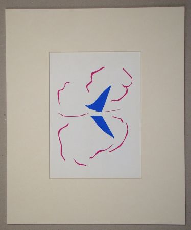 Lithographie Matisse (After) - La voile - 1952