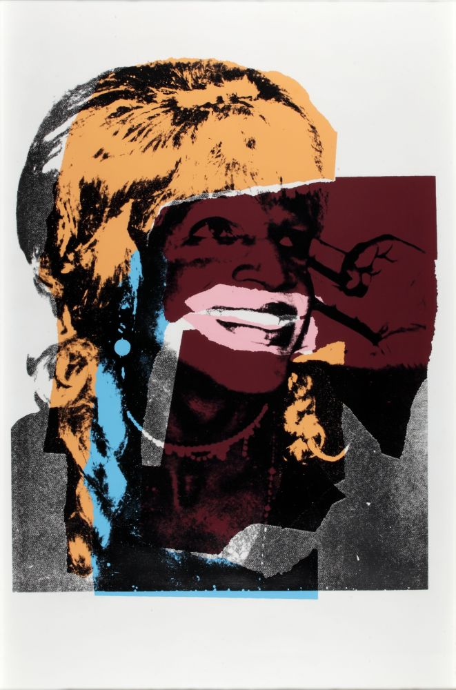 Siebdruck Warhol - Ladies And Gentlemen FS II.133