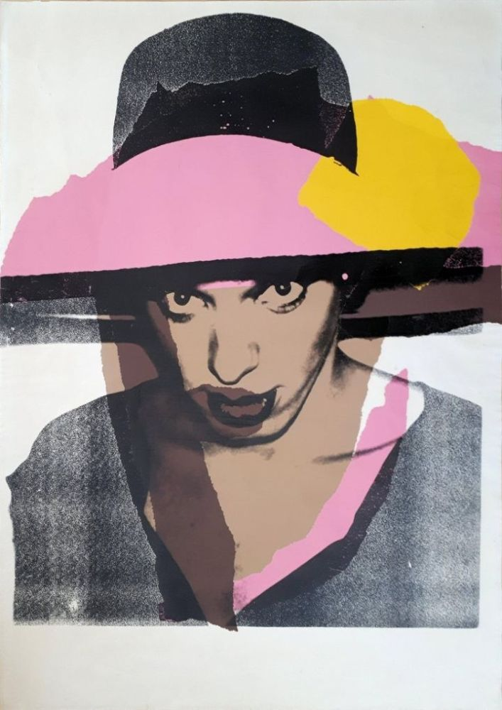 Siebdruck Warhol - Ladies & Gentlemen : The pink hat