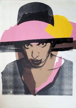 Siebdruck Warhol - Ladies & Gentlemen : The pink hat