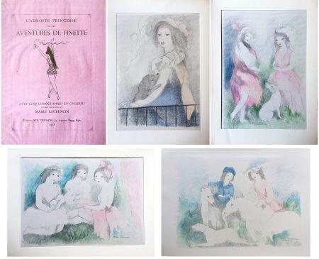 Illustriertes Buch Laurencin - L'Adroite Princesse : ou LES AVENTURES DE FINETTE, conte de fées.