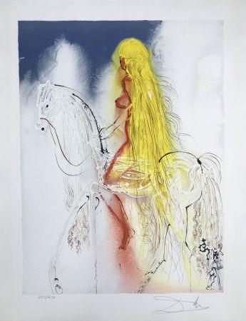 Lithographie Dali - Lady Godiva