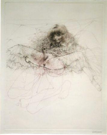 Aquatinta Bellmer - L'aigle mademoiselle