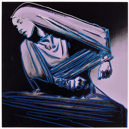 Lithographie Warhol - Lamentation