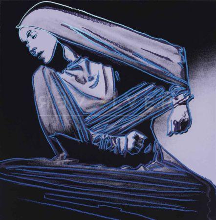 Siebdruck Warhol - Lamentation (Fs Ii.388)