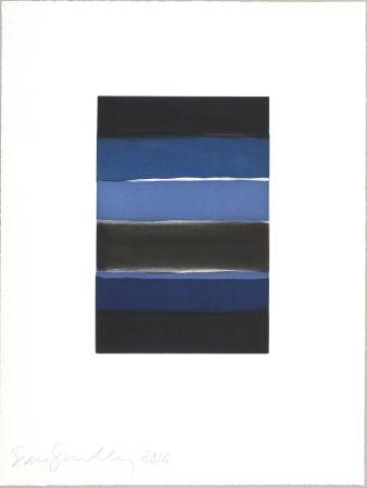 Aquatinta Scully - Landline (blue)