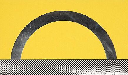 Siebdruck Lichtenstein - Landscape 7