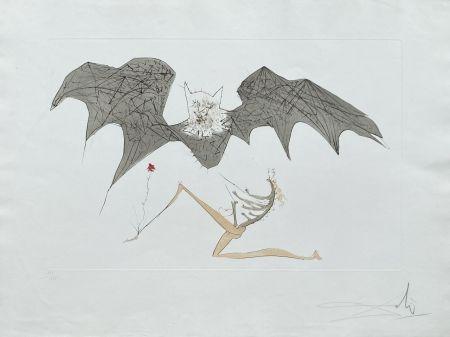 Lithographie Dali - L'ange de la mélancolie