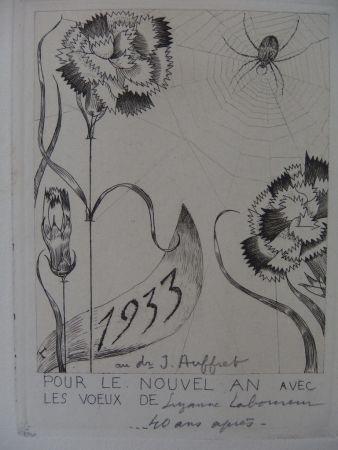 Stich Laboureur - L'araignée aux fleurs