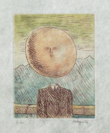 Radierung Und Aquatinta Magritte - L'art de vivre