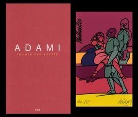 Illustriertes Buch Adami - L'art en écrit