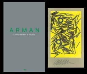 Illustriertes Buch Arman - L'art en écrit