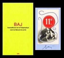 Illustriertes Buch Baj - L'art en écrit
