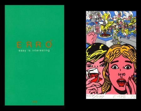 Illustriertes Buch Erro - L'art en écrit