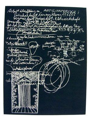 Radierung Und Aquatinta Beuys - L'Arte È Una Zanzara Dalle Mille Ali