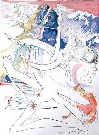 Stich Dali -  Laser unicorn and cosmic rhino