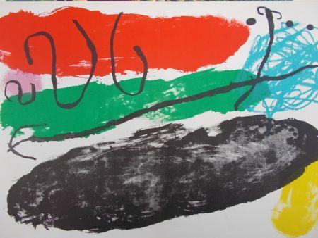 Lithographie Miró - L'astre De Patagon