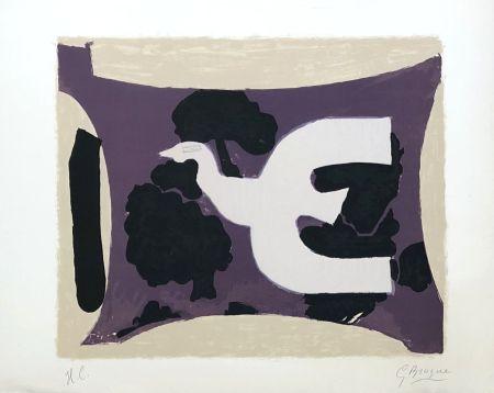 Lithographie Braque - L'atelier