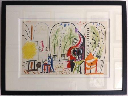 Lithographie Picasso - L'atelier de la Californie