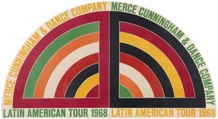 Plakat Stella - Latin american tour -1968