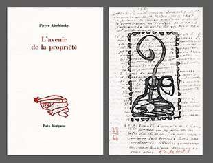 Illustriertes Buch Alechinsky - L'avenir De La Propriété