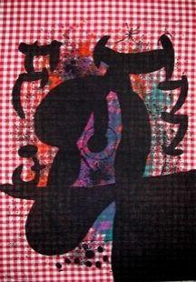 Lithographie Miró - Le Bagnard