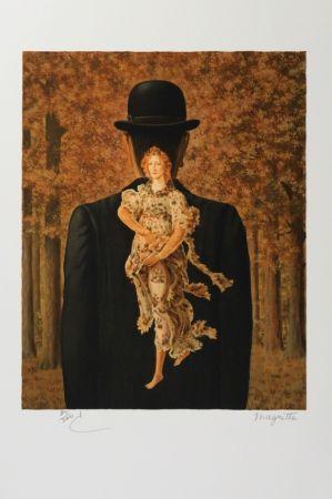 Lithographie Magritte - Le bouquet tout fait