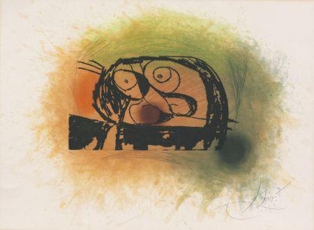 Radierung Und Aquatinta Miró - Le Bousier