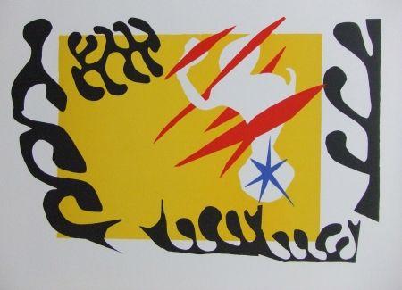 Lithographie Matisse - Le cauchemar de l'éléphant blanc