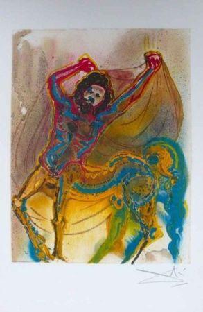Lithographie Dali - Le Centaure De Crète