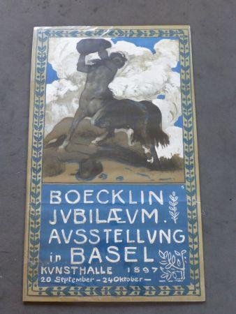Plakat Boecklin - Le centaure ,musée de Bâle