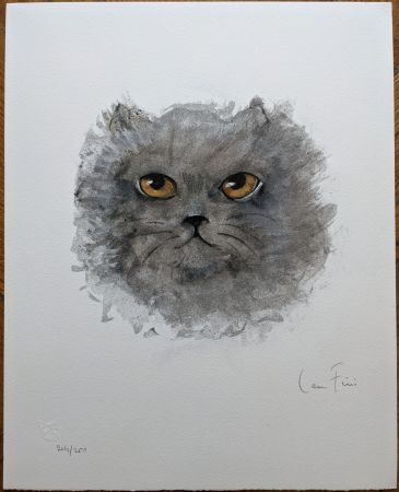 Lithographie Fini - Le Chat