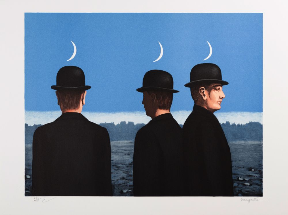 Lithographie Magritte - Le Chef d'Oeuvre ou les Mystères de l'Horizon (The Masterpiece or the Mysteries of the Horizon)