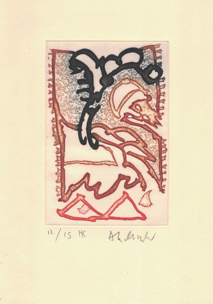 Stich Alechinsky - '' Le Cirque ''