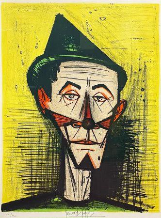 Lithographie Buffet - Le Clown Pointu