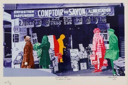 Siebdruck Fromanger - Le Comptoir du Savon