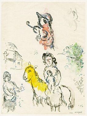 Monotypie Chagall -