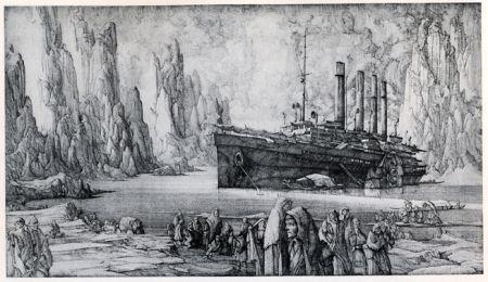 Stich Desmazières - Le Debarquement