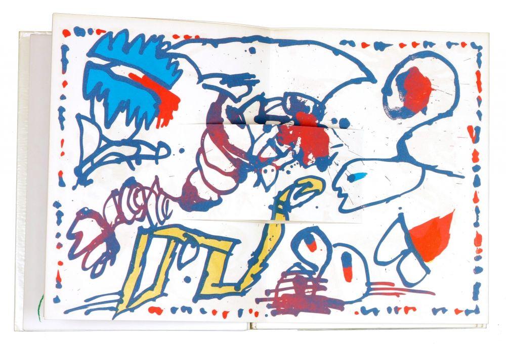 Illustriertes Buch Alechinsky - LE GRAND JAMAIS - Alechinsky/Joyce Mansour/Matta