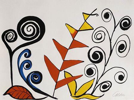 Lithographie Calder - Le jardin fantastique