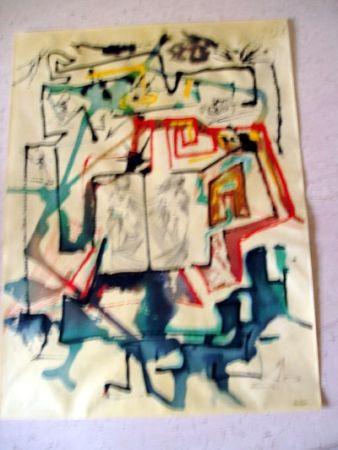 Stich Dali - Le Labyrinthe (Alchime des Philosophes)