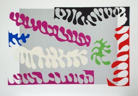 Collograph Matisse - Le Lagon I (Lagoon I)