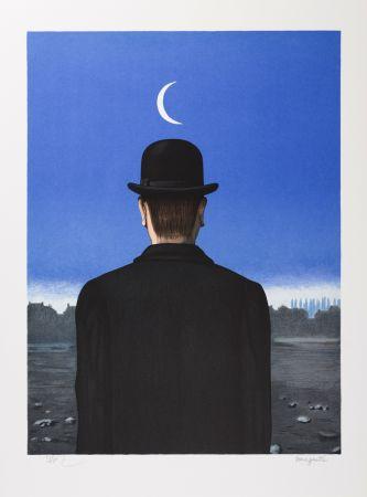 Lithographie Magritte - Le Maître d'École (The School Master)