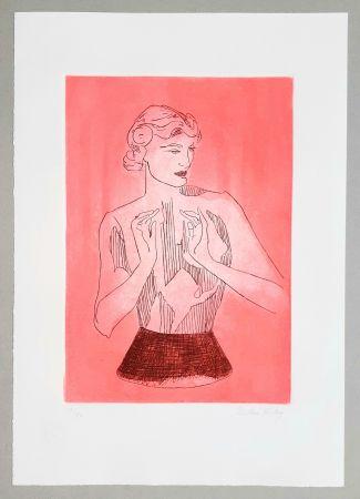 Radierung Und Aquatinta Ray - Le mannequin